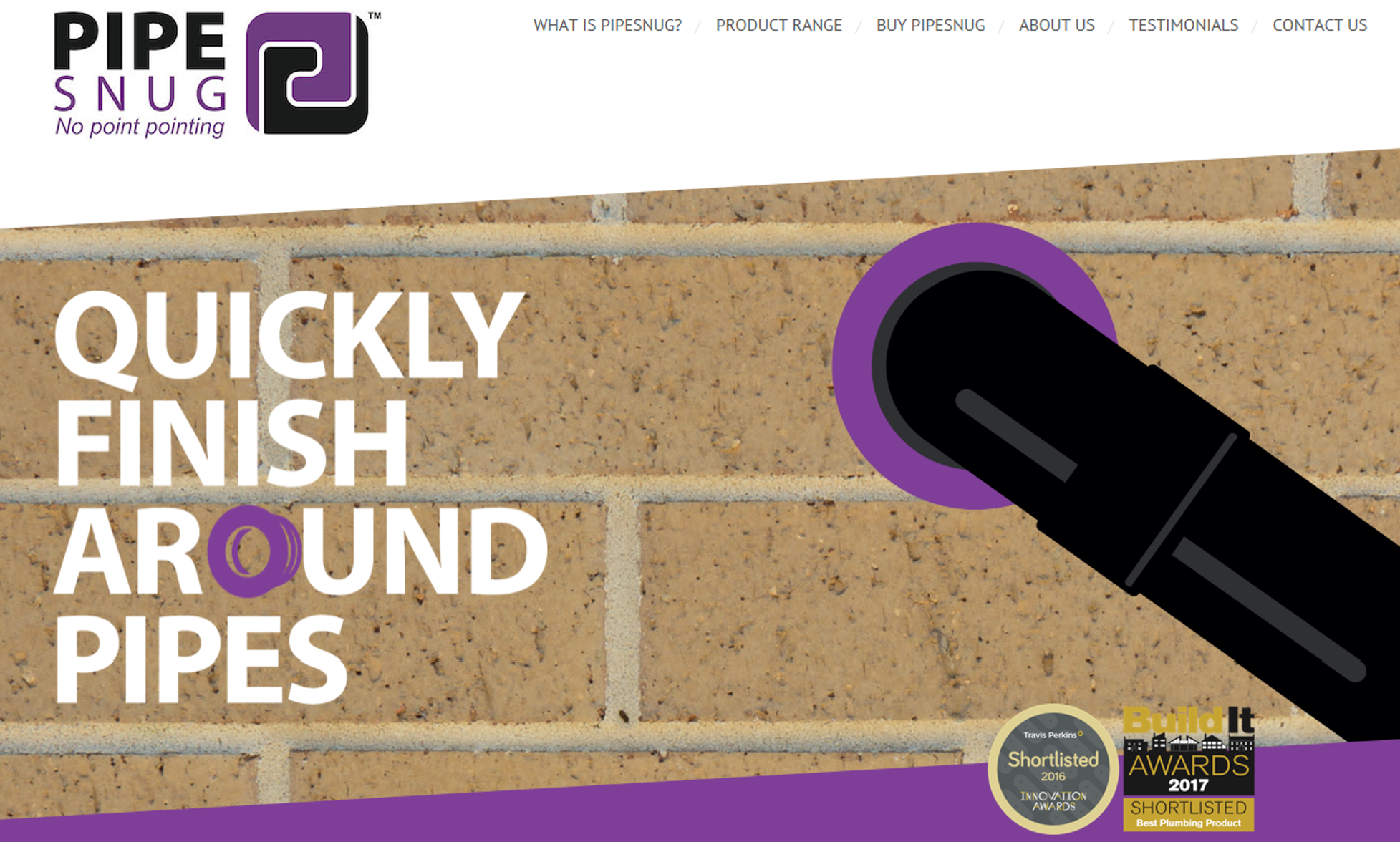 PipeSnug's New Website
