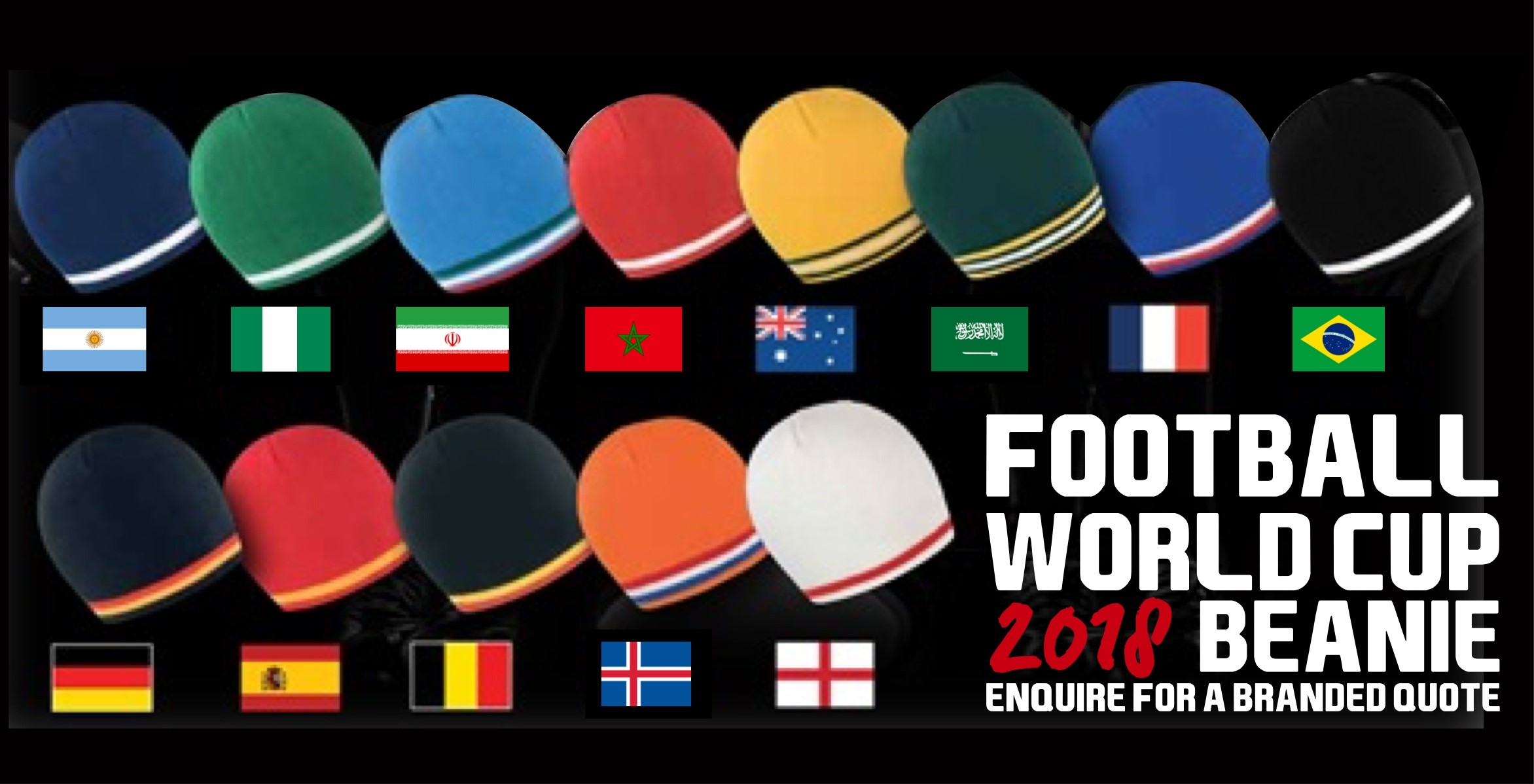 World Cup Beanies
